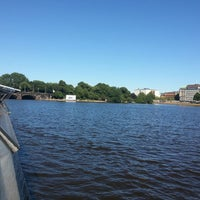Photo taken at Alster-Rundfahrten by Dmitry S. on 7/22/2013