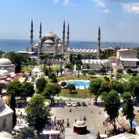Photo taken at Blue Mosque by Serra S. on 7/3/2013
