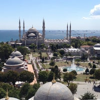 Photo taken at Blue Mosque by Serra S. on 7/22/2013