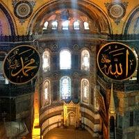 Photo taken at Hagia Sophia by Serra S. on 7/5/2013