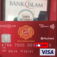 Photo taken at Bank Islam (M) Bhd by Allep A. on 2/10/2017
