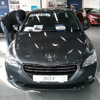 Photo taken at Peugeot by Anton P. on 3/16/2013
