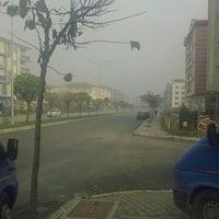 Photo taken at Savaştepe Caddesi by Deniz D. on 12/8/2015