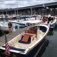 Photo taken at Greenwich Water Club by Bill S. on 4/13/2013
