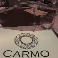 Photo taken at Carmo Restaurant & Bar by Rikki H. on 5/29/2018