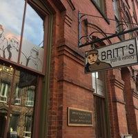 Photo taken at Britt's Pub & Eatery by Rikki H. on 9/30/2017