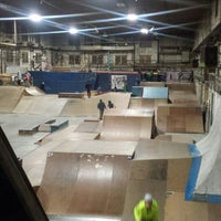 Photo taken at Four Seasons Skate Park by Drucilla D. on 3/7/2015