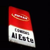 Photo taken at Comidas Al Este by Allan A. on 10/25/2012