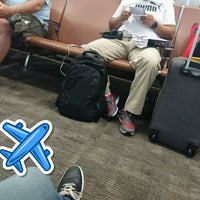 Photo taken at Gate A2 by Ivan G. on 7/1/2017