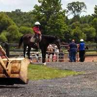 Photo taken at Hunt View Farm by Bill B. on 7/28/2013