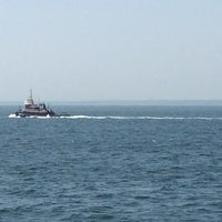 Photo taken at On the Cross Sound Ferry: Orient - New London by Dianne W. on 7/7/2014