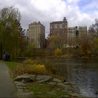Photo taken at Central Park - The Pool by Alice C. on 11/24/2012