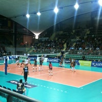 Photo taken at Palais des Sports by Philippe M. on 10/30/2012