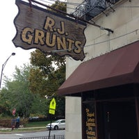 Photo taken at RJ Grunts by Kyle T. on 10/19/2012
