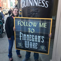 Photo taken at Finnegans Wake & Revival by Emilie B. on 3/18/2017
