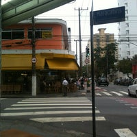 Photo taken at Amarelinho Bar by Leonardo P. on 11/1/2012