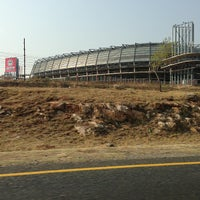 Photo taken at Orlando Stadium by Moolo K. on 9/15/2013