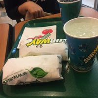 Photo taken at SUBWAY by zielahsndn on 3/6/2017