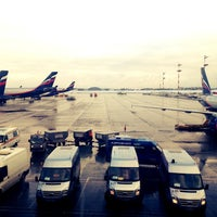 Photo taken at Выход 32 / Gate 32 (D) by Полина К. on 4/2/2013