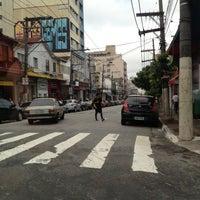 Photo taken at Rua da Mooca by Manuel Lucas V. on 12/23/2012