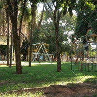 Photo taken at Parquinho Infantil by Paula M. on 7/12/2013