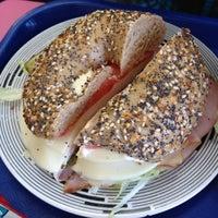 Photo taken at Jersey Boy Bagels by M M. on 9/30/2012