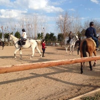 Photo taken at Lara Horse Clup Arena by Emel T. on 2/12/2017