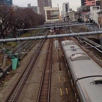 Photo taken at Oedo Line Higashi-nakano Station (E31) by Y O. on 1/18/2014