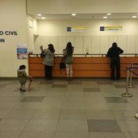 Photo taken at Registro Civil by Felipe P. on 9/1/2014