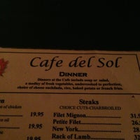 Photo taken at Cafe Del Sol by Joshua E. on 7/19/2013