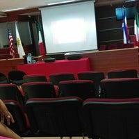 Photo taken at Sala de Juicios Orales   UVM by ChuLinda C. on 12/8/2015