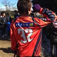Photo taken at 白岡市総合運動公園 by mog on 1/19/2014