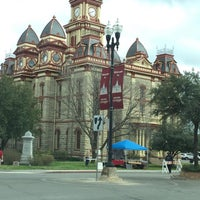 Photo taken at Lockhart, TX by Janie A. on 2/20/2016