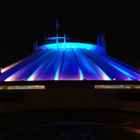 Photo taken at Space Mountain by Derek J. on 1/29/2013