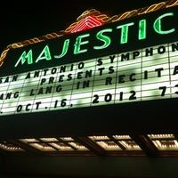 Photo taken at The Majestic Theatre by Michael R. on 10/17/2012