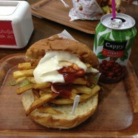 Photo taken at Ercan Burger by Melike E. on 6/21/2013