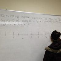 Photo taken at Newton Gresham Library by Stephanie D. on 11/29/2012