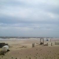 Photo taken at Atlantic ocean Tybee Island by Mariangela L. on 4/21/2013
