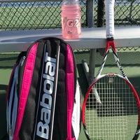 Photo taken at Gates Tennis Center by Brooke G. on 1/31/2017