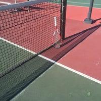 Photo taken at Gates Tennis Center by Brooke G. on 9/1/2015