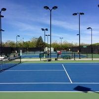 Photo taken at Gates Tennis Center by Brooke G. on 5/5/2016