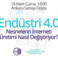 Photo taken at Gelecek Araştırmaları Enstitüsü by Samet Ç. on 3/4/2016