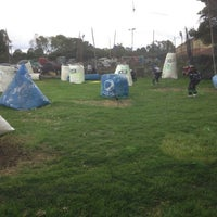 Photo taken at Rhinos Paintball by Carlos C. on 8/4/2013