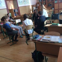 Photo taken at Гімназія №56 by Lolita M. on 12/9/2015