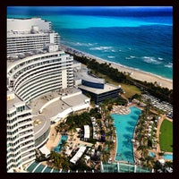 Photo taken at Fontainebleau Miami Beach by Fede W. on 1/29/2013