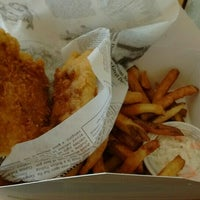 Photo taken at Fresco's Fish & Chips by Tove C. on 2/13/2016
