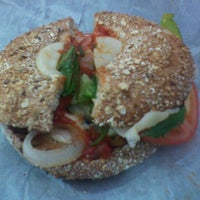 Photo taken at Bagel Talk by sunny on 9/18/2012