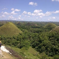 Photo taken at The Chocolate Hills by Betina P. on 3/30/2013