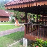 Photo taken at Teluk Dalam Beach Resort by Junaidi S. on 2/15/2013
