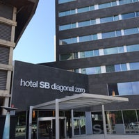 Photo taken at Hotel SB Diagonal Zero Barcelona by ekatokyo on 5/27/2015